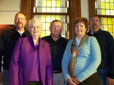 Miedtke family:  Roger, Charlene, Jim, Ellen, Chuck