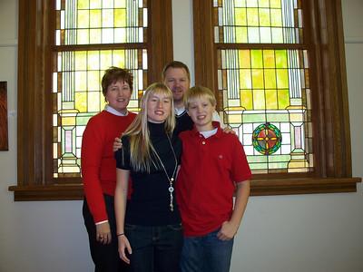 Ellen (daughter), husband Jim, Amelia and Adam Keesling