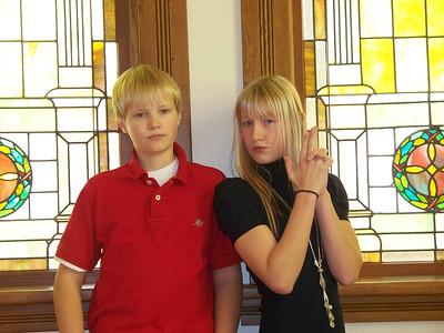 Adam & Amelia Keesling, grandchildren
