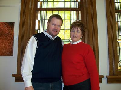 Ellen Miedtke Keesling (daughter) and husband Jim