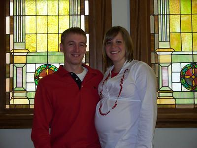 Jen (granddaughter) and husband Dan Wedel