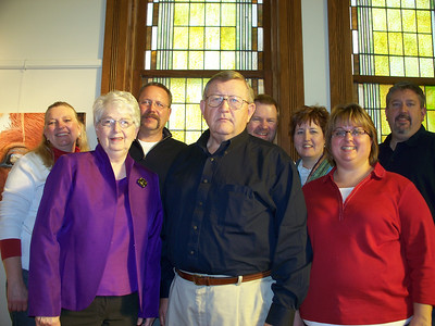 Miedtke family with spouses:  Roger & Charlene, Jim and Sheri, Ellen & Jim, Chuck and Julie