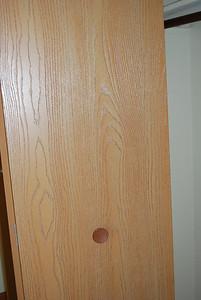 Nice doors, new (old doors were the metal louvered ones)