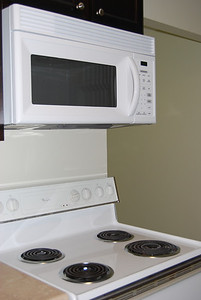 Microwave included (most apartments don't have one)