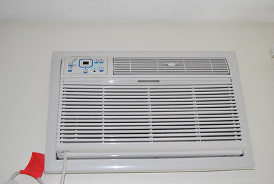 New A/C unit with remote