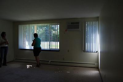 Big living area; hot water heat