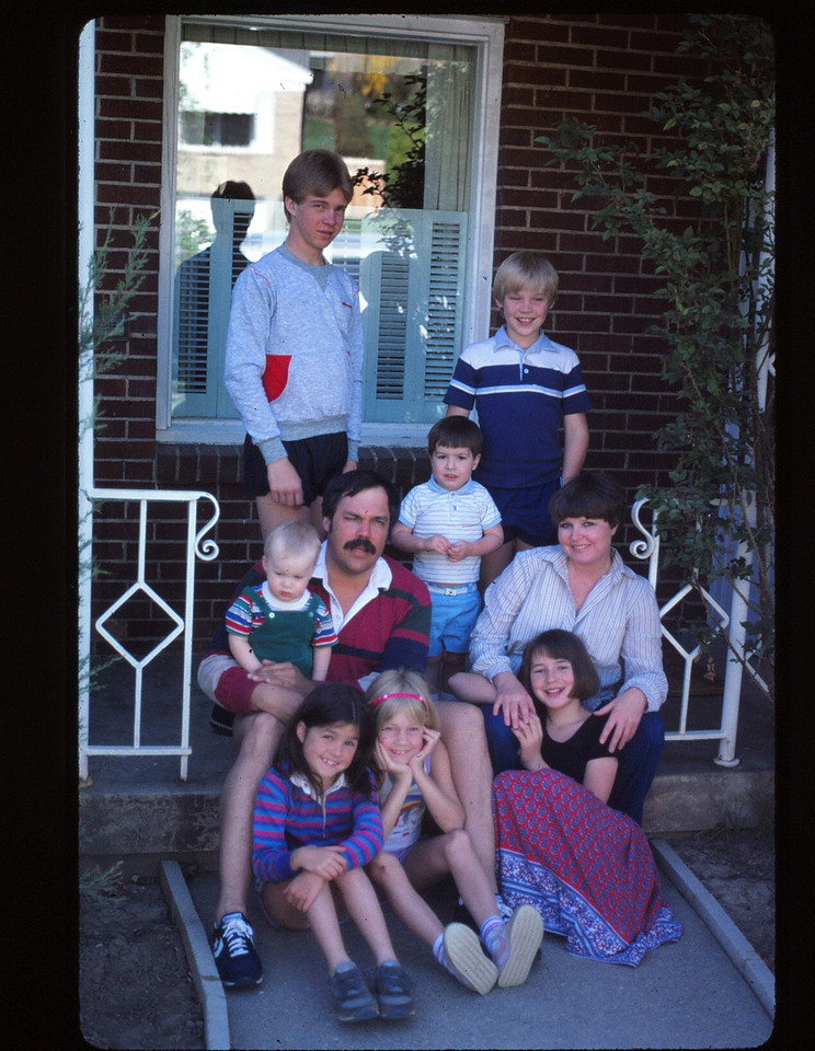 Russs,Nate,Mikey,Mike,Joe,Michelle,Nichole,Crissy & Monica,    1984