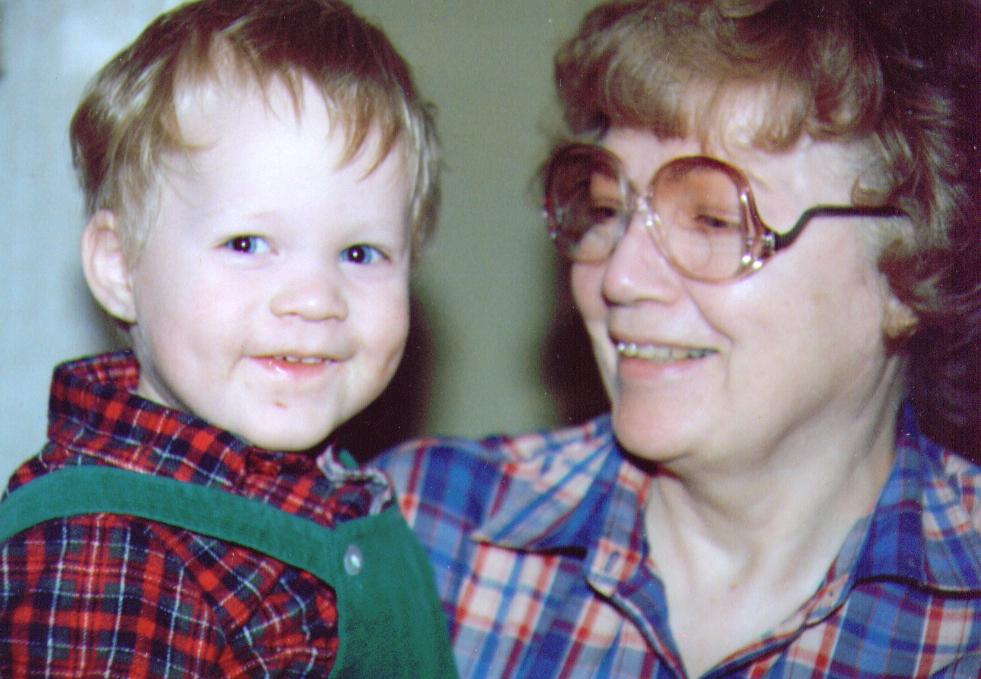 Mikey & Grandma Bonnie