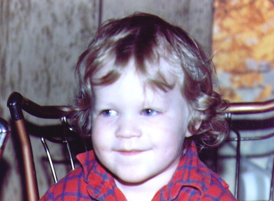 Mikey at Grandma's