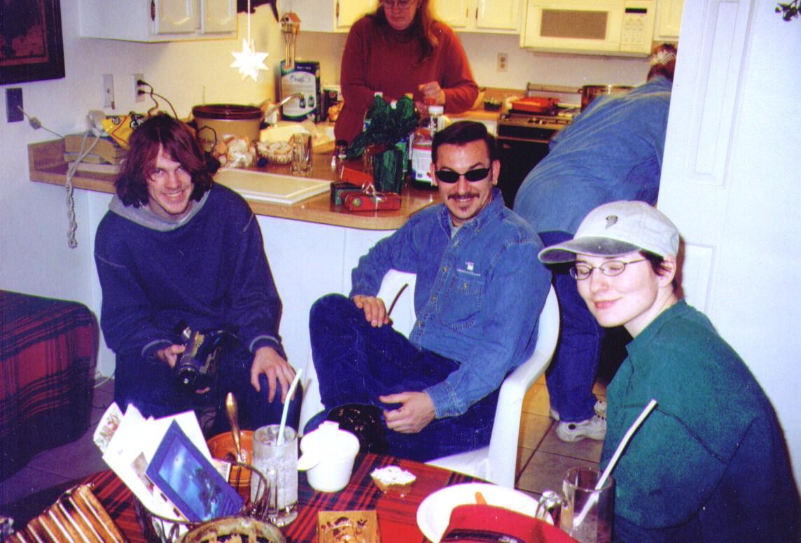Mikey,Crissy,Tony,Monica, 12-24-2003