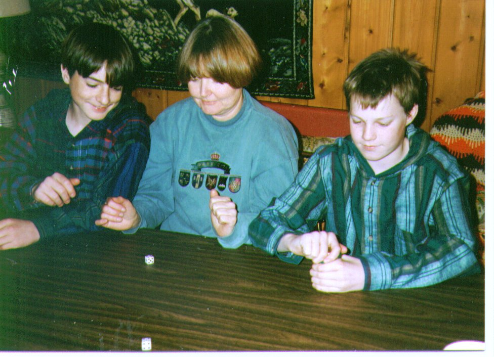 Joe, Michelle & Mikey, 1995,