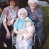Kathryn, Grandma Bea, Emma, Marilyn