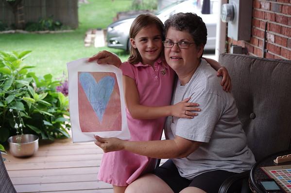 Anya, Grandma, Love.