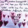 Note for Grandma Guengerich.