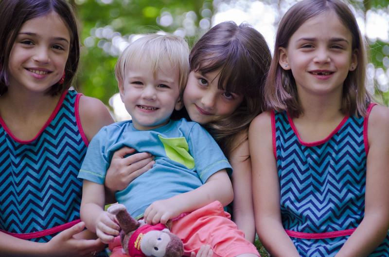 The cousins, summer 2014.
