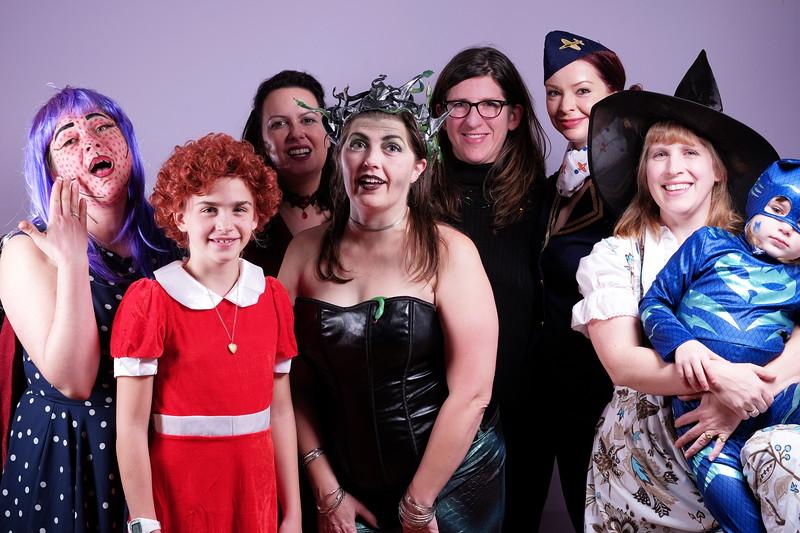 Women of halloween.