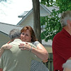 A whole lotta huggin' going on!<br /> Cathy, Billy and Arnold.