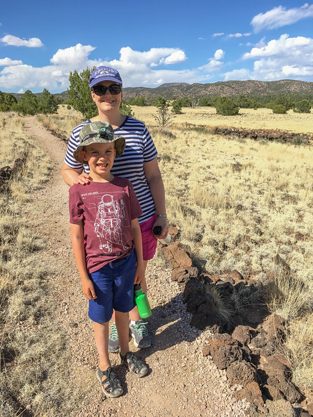 HIKE AT EL MALPAIS NATIONAL MOUNMENT IN GRANTS, NEW MEXICO