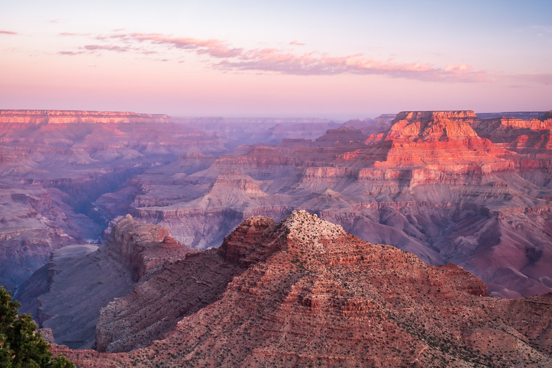 SUNSET AT YAVAPAI POINT