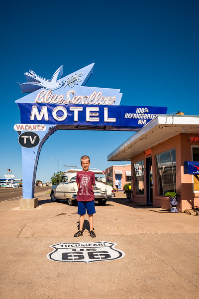 ROUTE 66 IN TUCUMCARI, NEW MEXICO