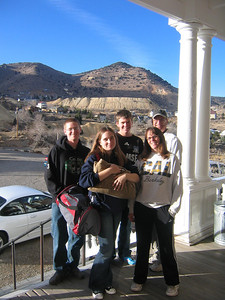 JOHN AND LINDA WALSH FAMILY -- With Joe, Casey and Zach in Virginia City, Nev.