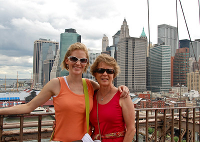 Joanna & Hannah, on Brooklyn Bridge