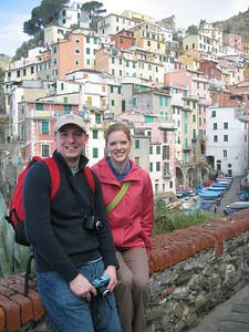Scott & Joanna, Riomaggiore, Italy