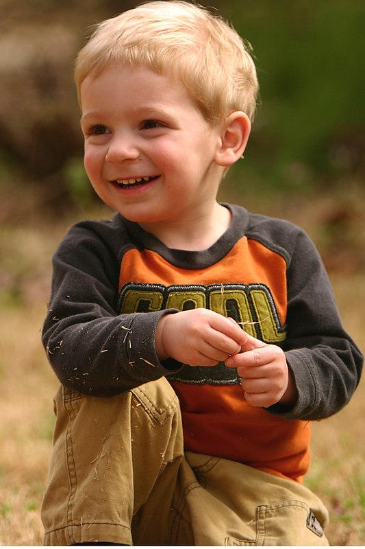 My nephew Brett's son, Owen