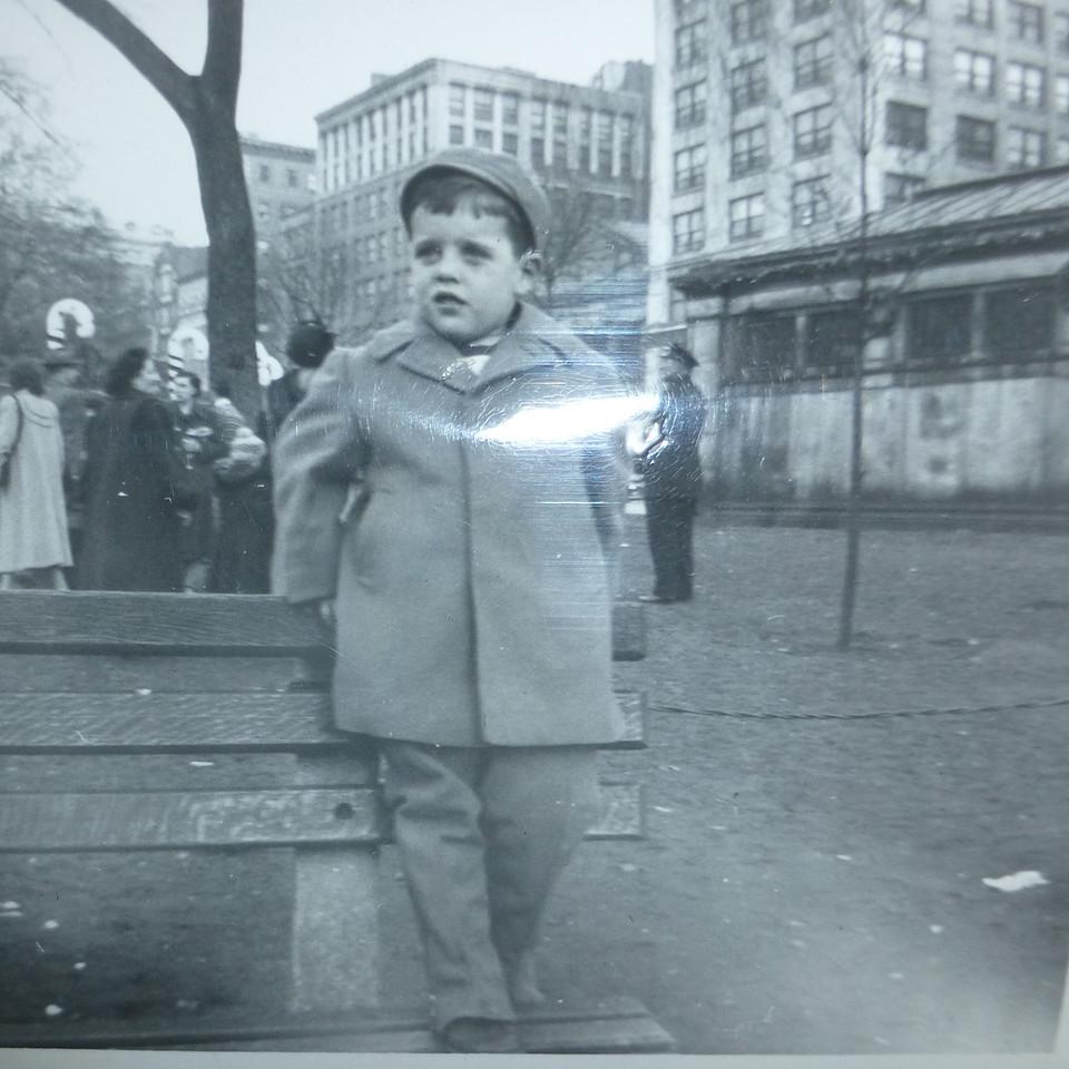 Bill on the Boston Common