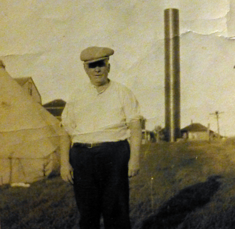 Papa in Vermont in 1925
