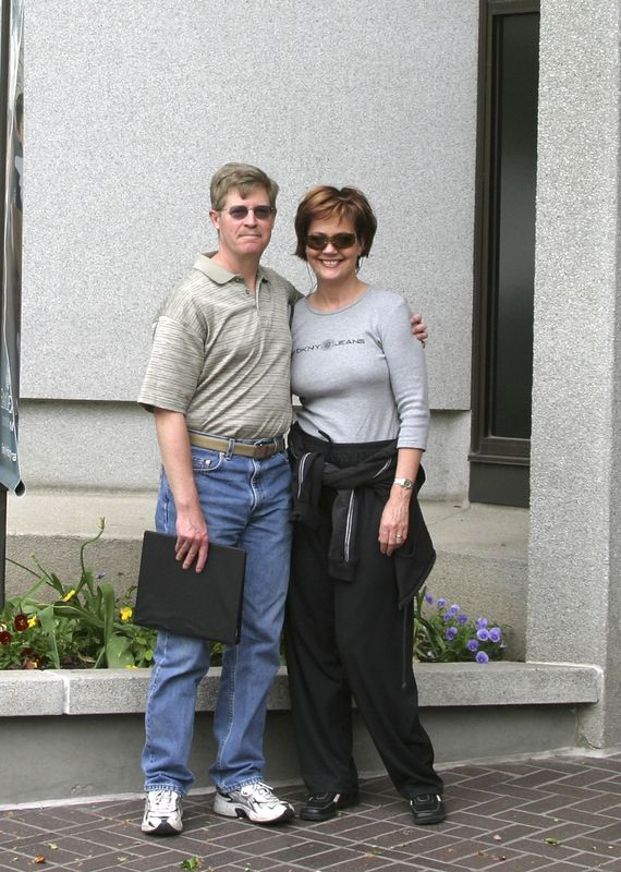 My sister, Cindy, and her husband, Doug out in Salt Lake City