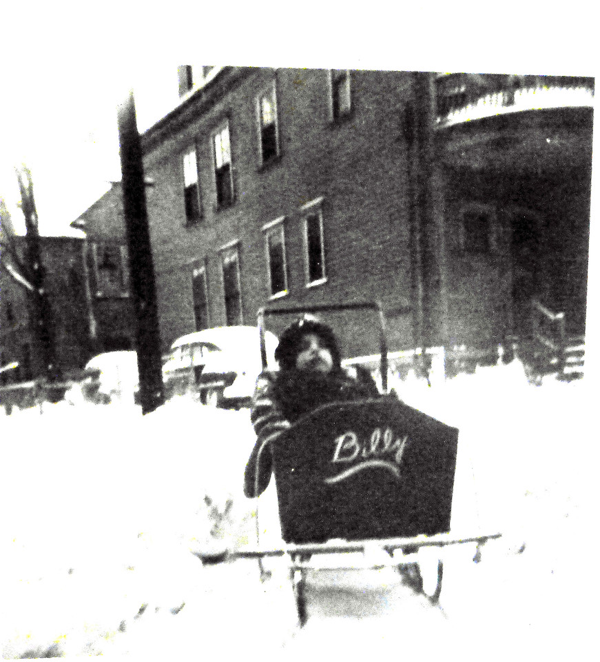 Bill in a Sled