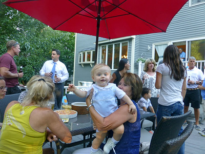 Jack at his First Birthday Party