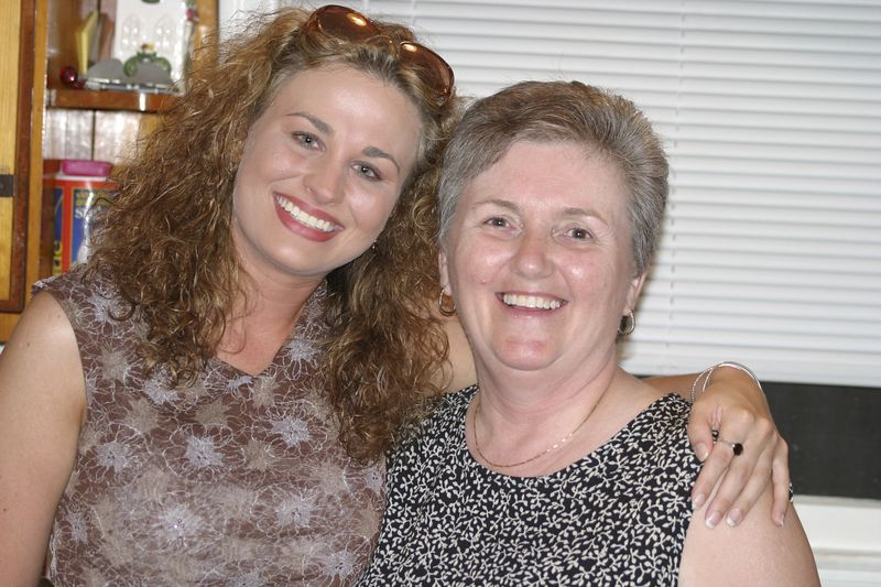 My niece, Denise, and my sister in law, Brenda