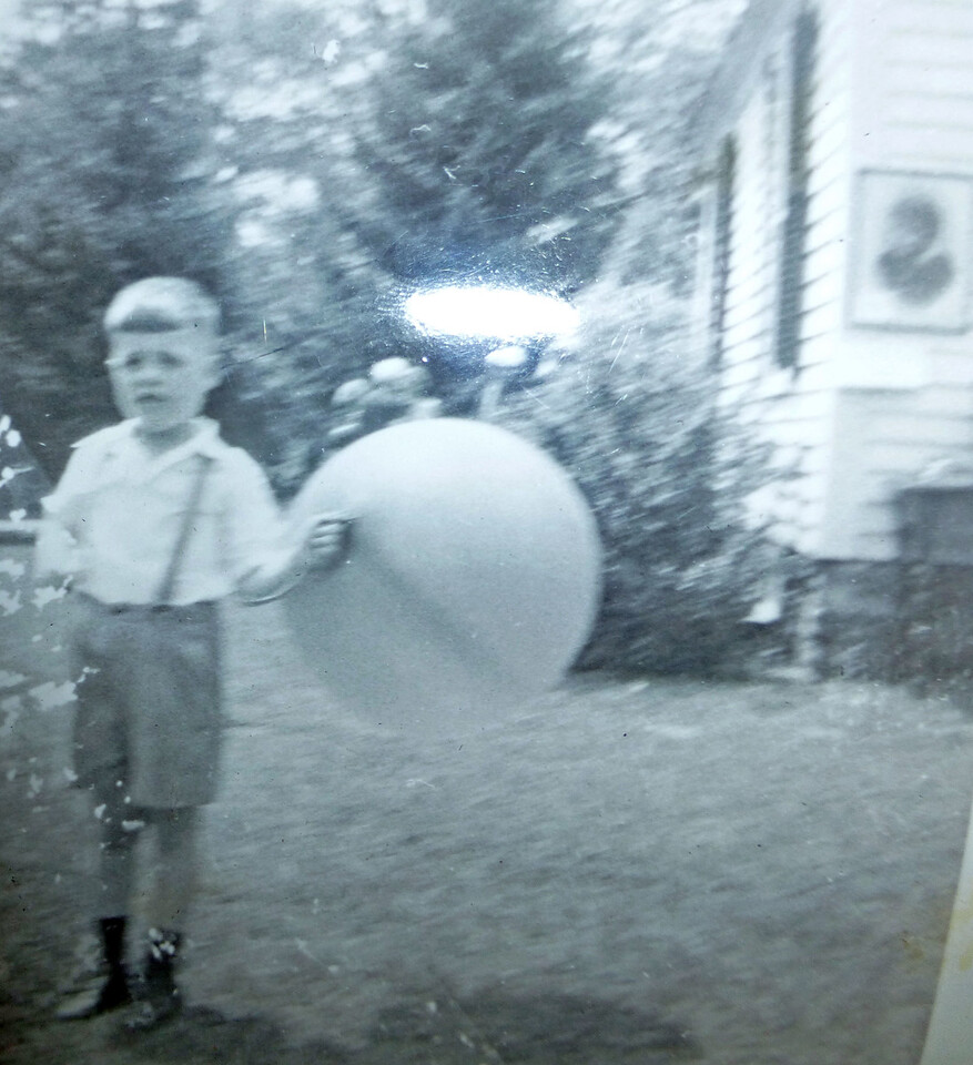 Bill with a Big Balloon