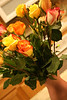 Rob, in all his sweetness, sent me flowers for Valentine's day.  They were quite lovely.