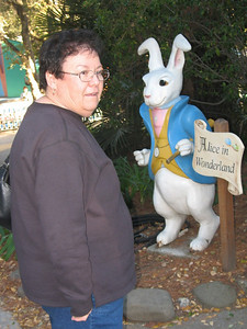 Vicki and the Rabbit that is running late.