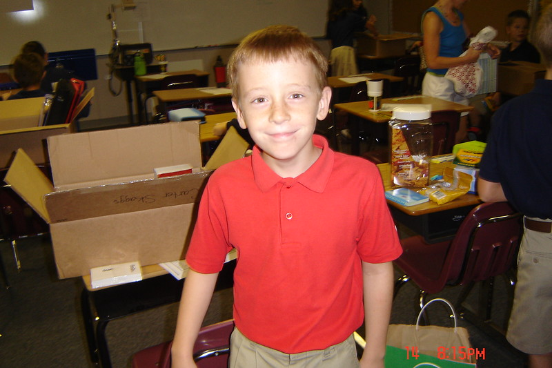 First day of 4th grade