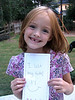 Caroline lost her first top tooth on September 17, 2006.  She is so excited!!!  It was the third tooth that she has lost.