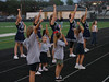 TCA mini cheerleaders at the football game