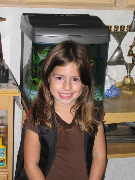 Zara 1st day of kindergarten