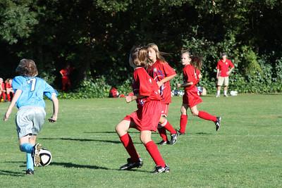 Fall 2010- Kelsey Soccer