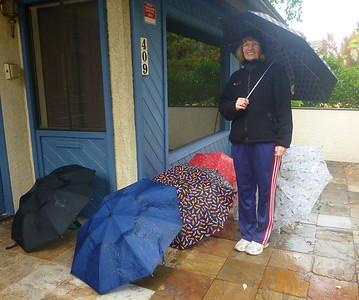 Rain in Redondo Beach
