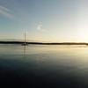 Saturday morning panorama of Clam Bay.