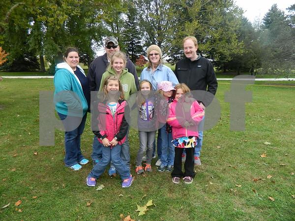 Left to right; Sean, Candise, Kadian, Emily, Lauren Ott, Zoey Snelon, David, Lori, Chloe Aelrvs
