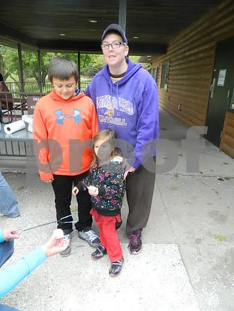 Peyton Nguyen, Jessie Fox, and Ashton Nguyen