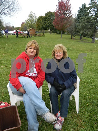 Angie Gill and Gloria Streff