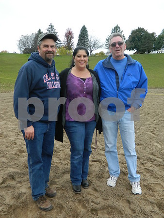 Left to right: Curtis Walker, Alexa Walker, and Paul Walker