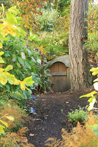 Hobbits live in the Bellevue Botanical Garden
