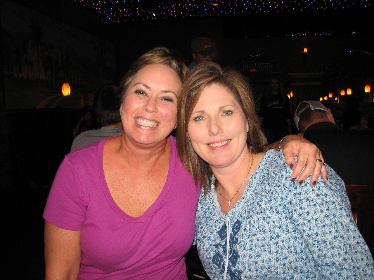 Girls Weekend 2012 to Canton, TX.  Me and Debbie